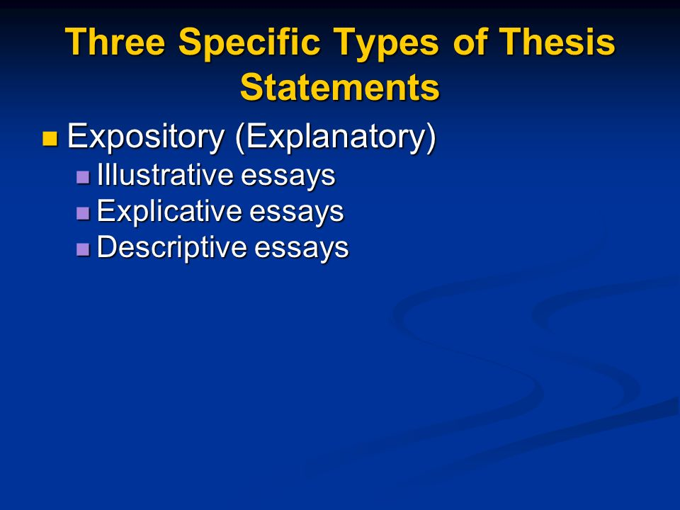 how to write a ethics thesis statement