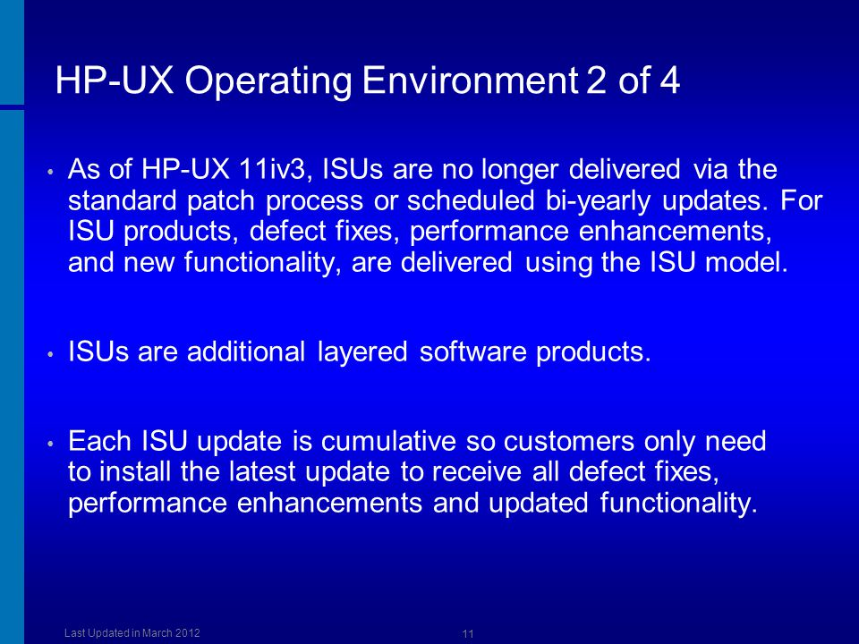 HP-UX Operating Environment 2 of 4