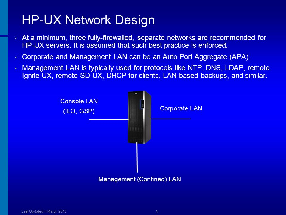 Management (Confined) LAN