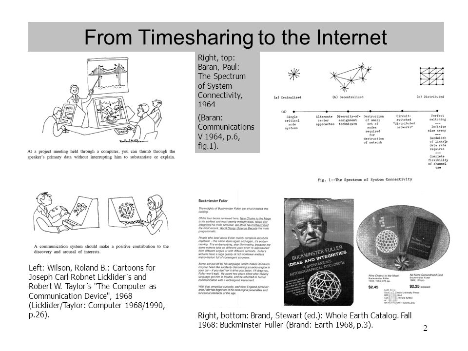 From Timesharing to the Internet