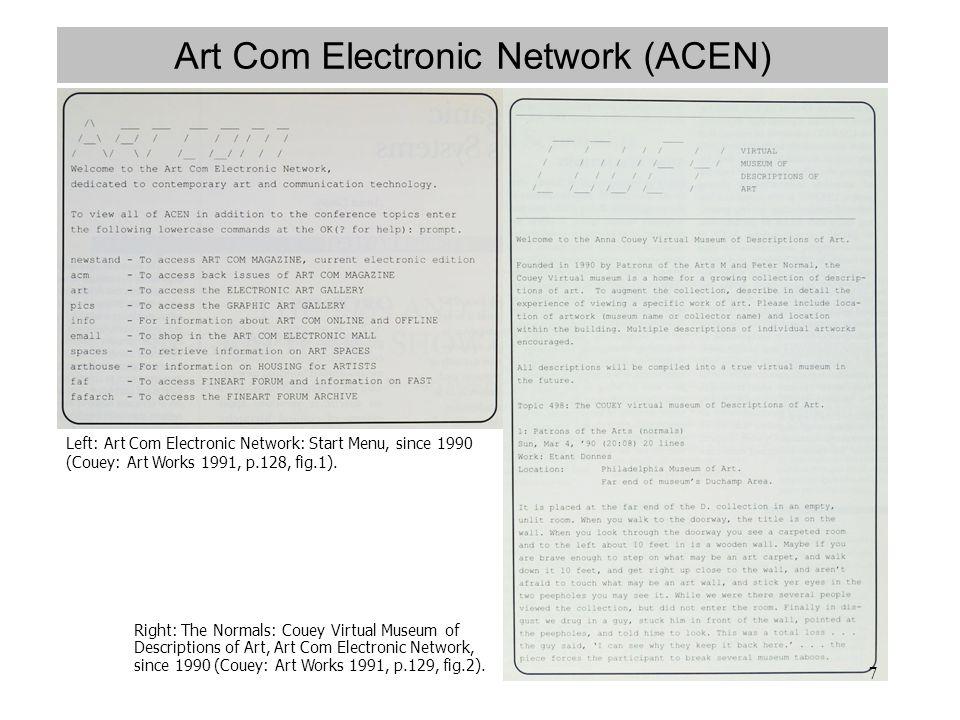 Art Com Electronic Network (ACEN)