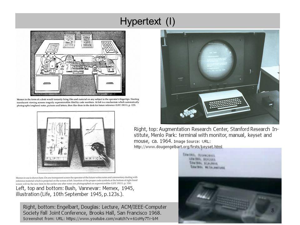 Hypertext (I)