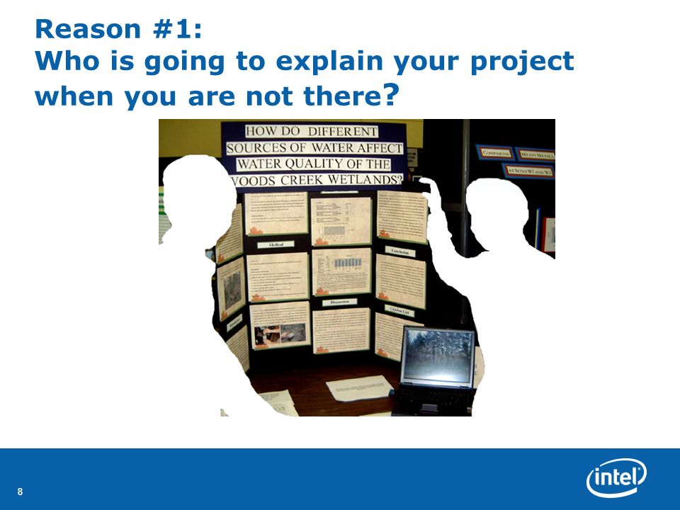 Reason #1: Who is going to explain your project when you are not there