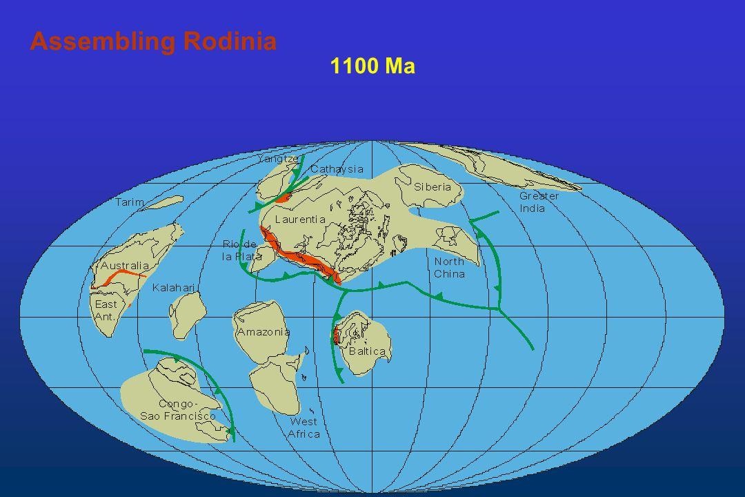 Assembling Rodinia 1100 Ma