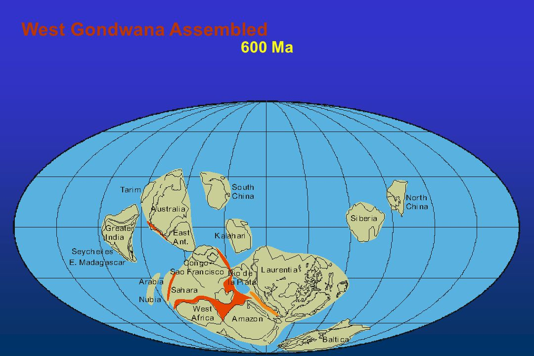 West Gondwana Assembled