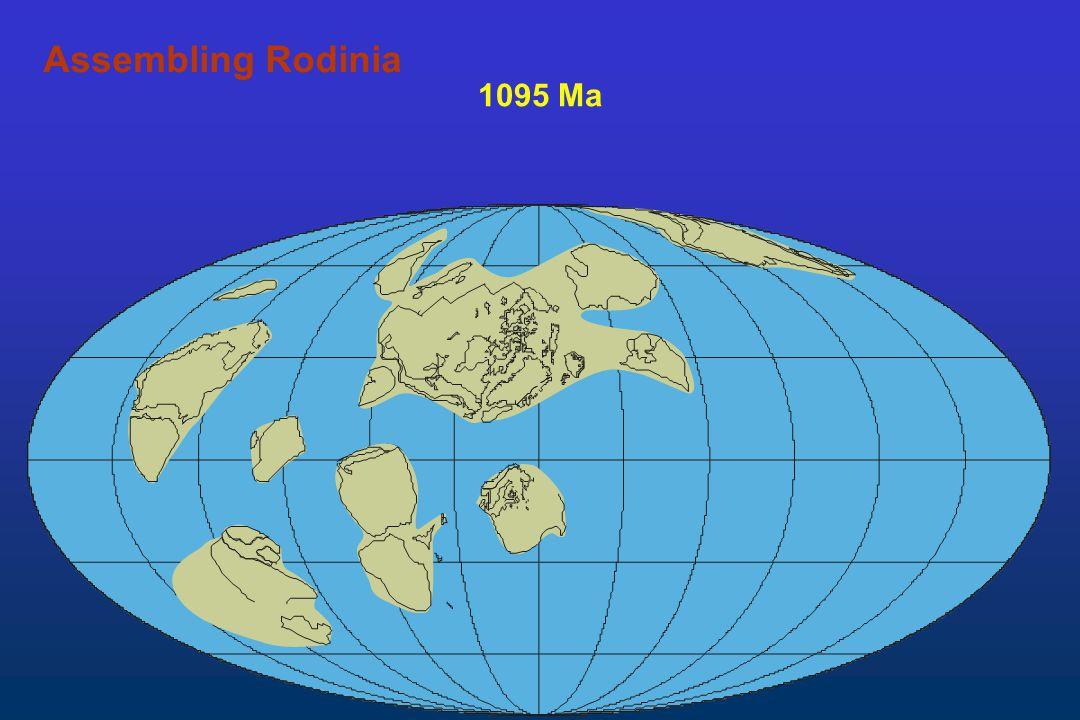 Assembling Rodinia 1095 Ma