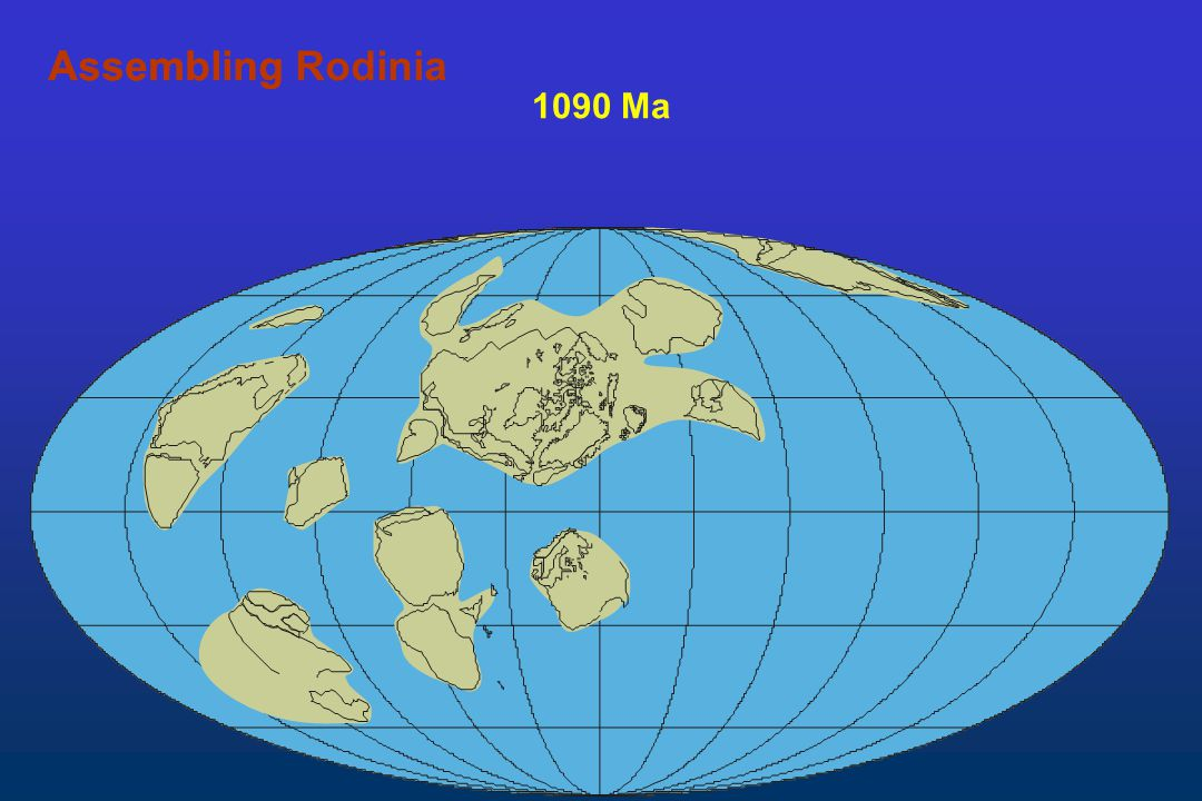 Assembling Rodinia Assembling 1090 Ma