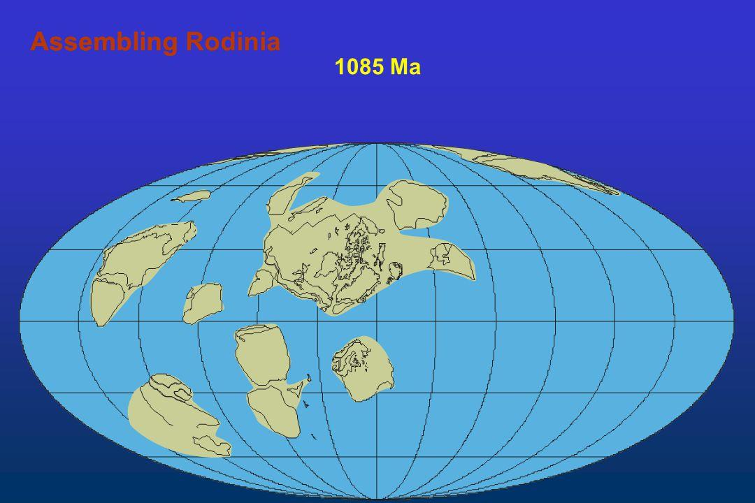 Assembling Rodinia Assembling 1085 Ma