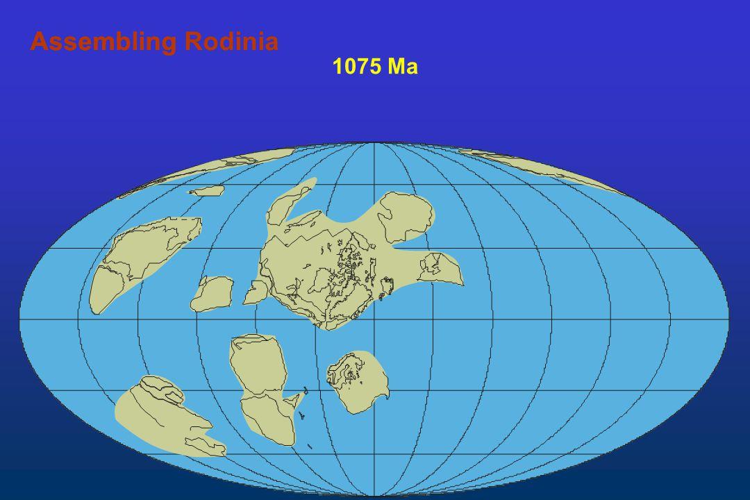 Assembling Rodinia Assembling 1075 Ma