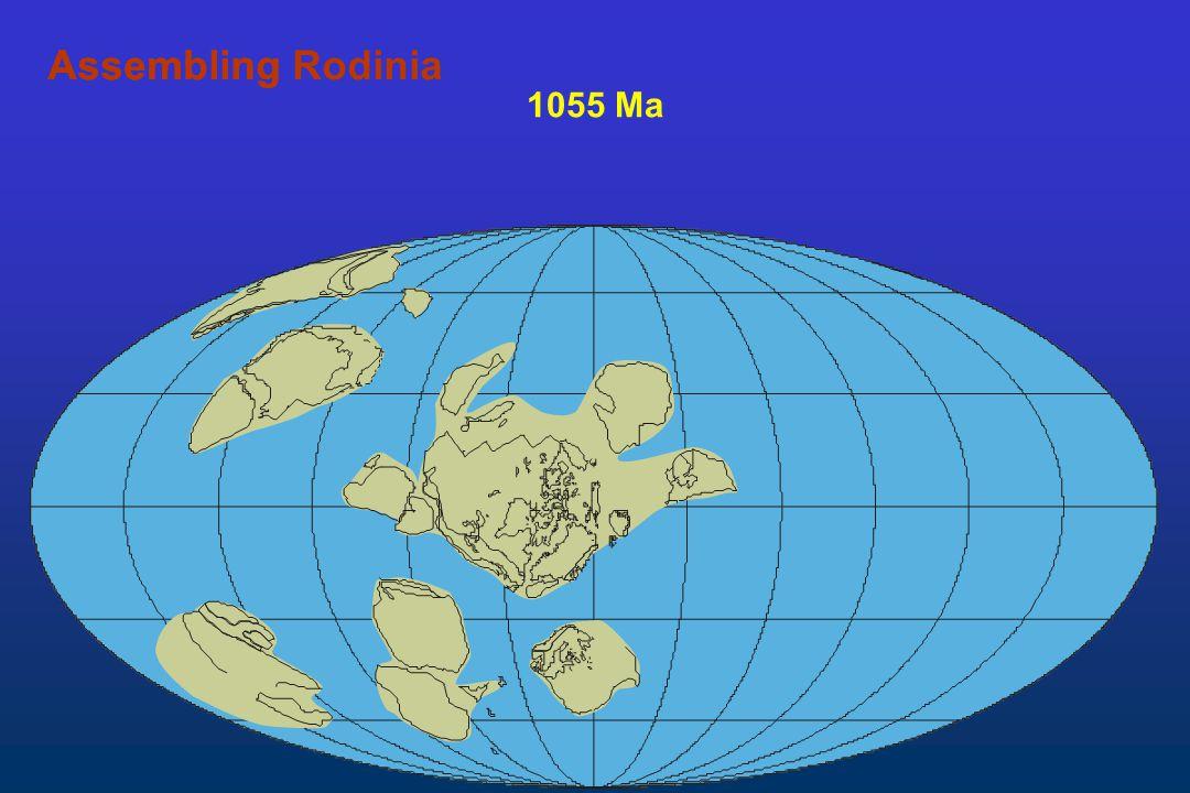 Assembling Rodinia Assembling 1055 Ma