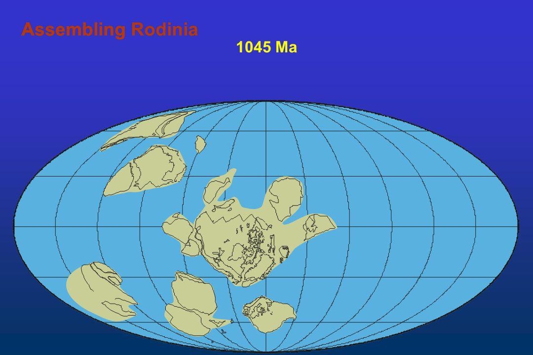 Assembling Rodinia Assembling 1045 Ma