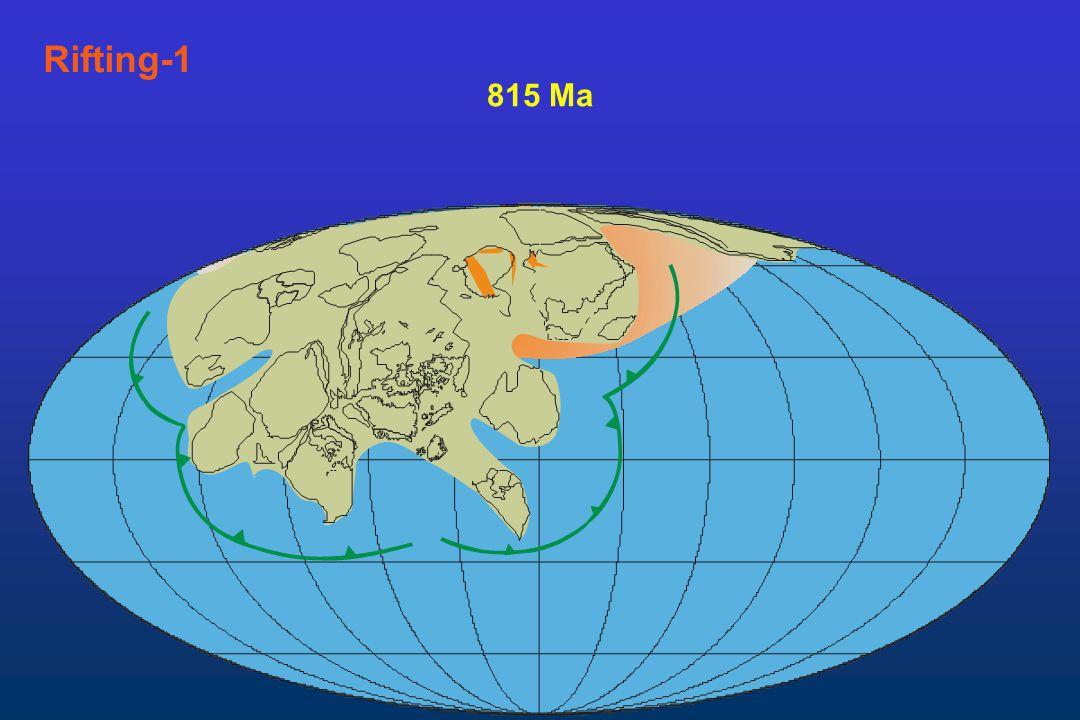 Rifting-1 815 Ma