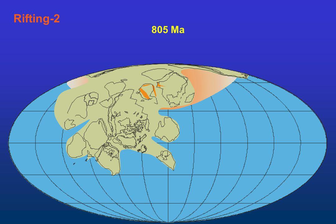 Rifting-2 805 Ma