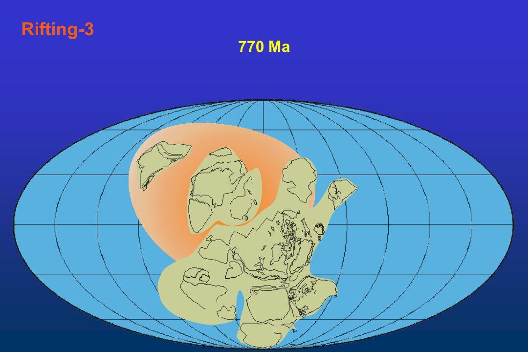 Rifting-3 770 Ma