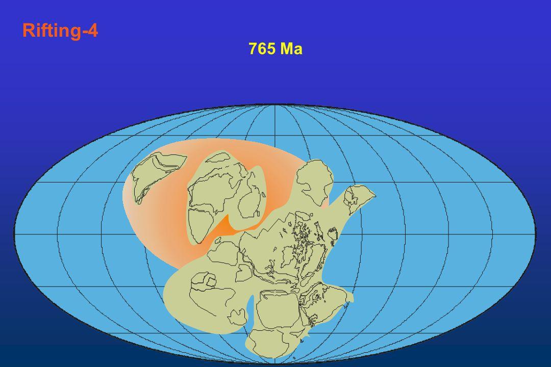 Rifting-4 765 Ma