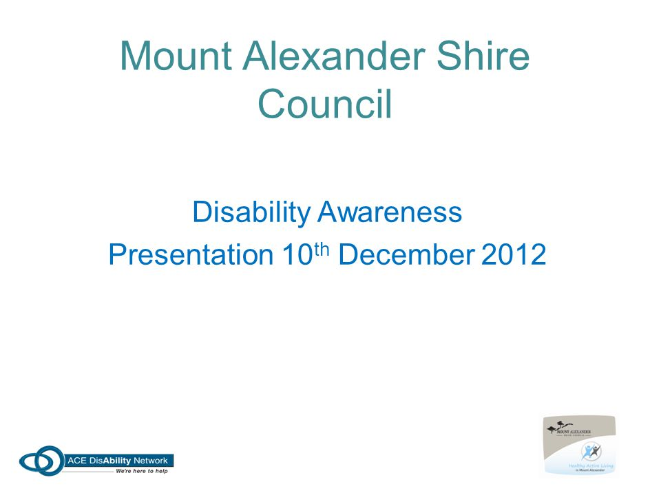 Mount Alexander Shire Council