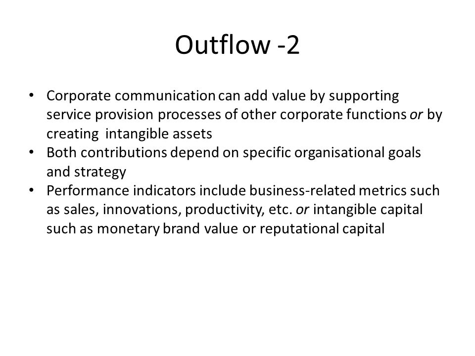 Outflow -2