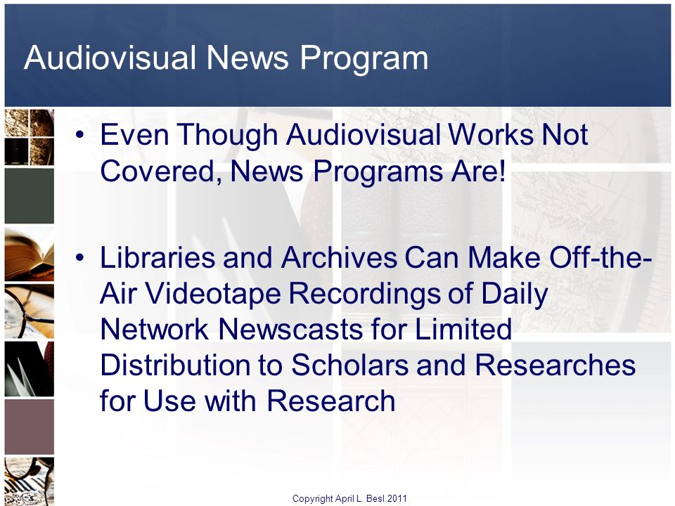 Audiovisual News Program