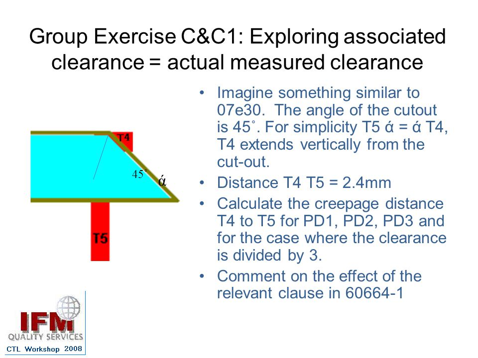 Group Exercise C&C1: Exploring associated clearance = actual measured clearance