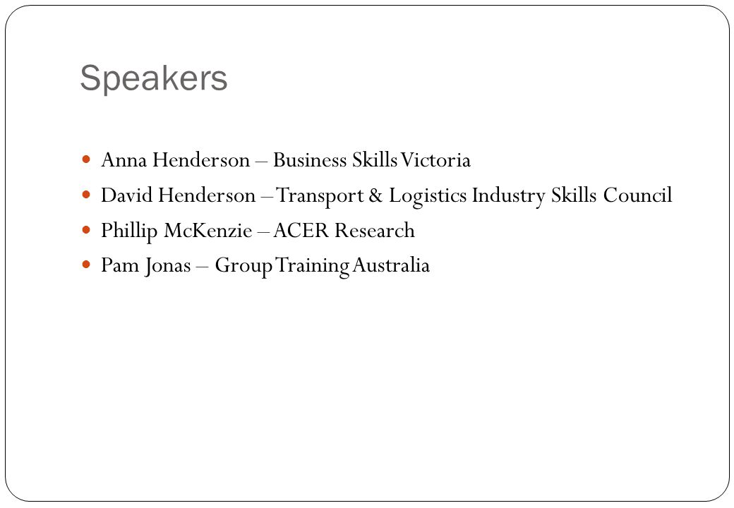 Speakers Anna Henderson – Business Skills Victoria