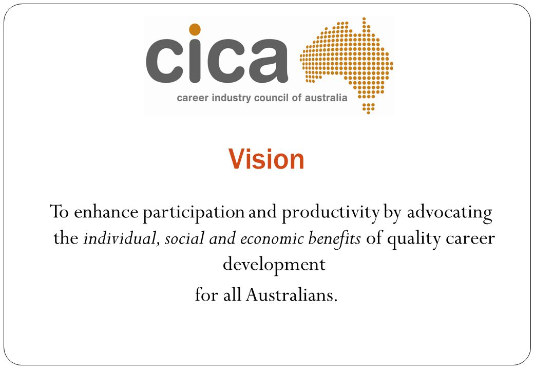 Vision for all Australians.
