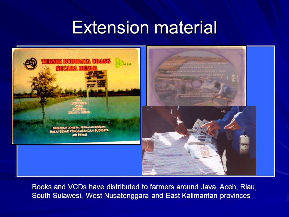 Extension material