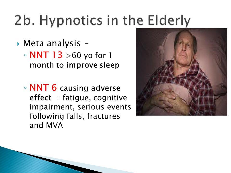 2b. Hypnotics in the Elderly