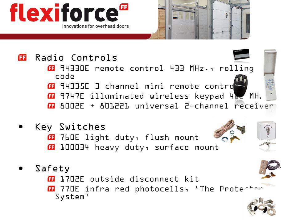 Radio Controls Key Switches Safety