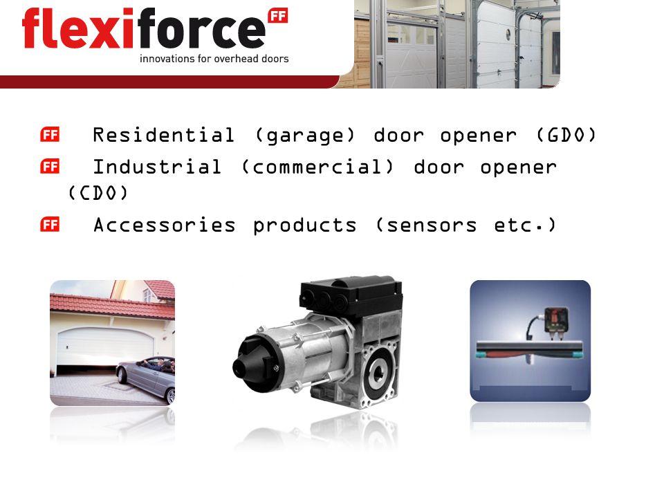 Residential (garage) door opener (GDO)