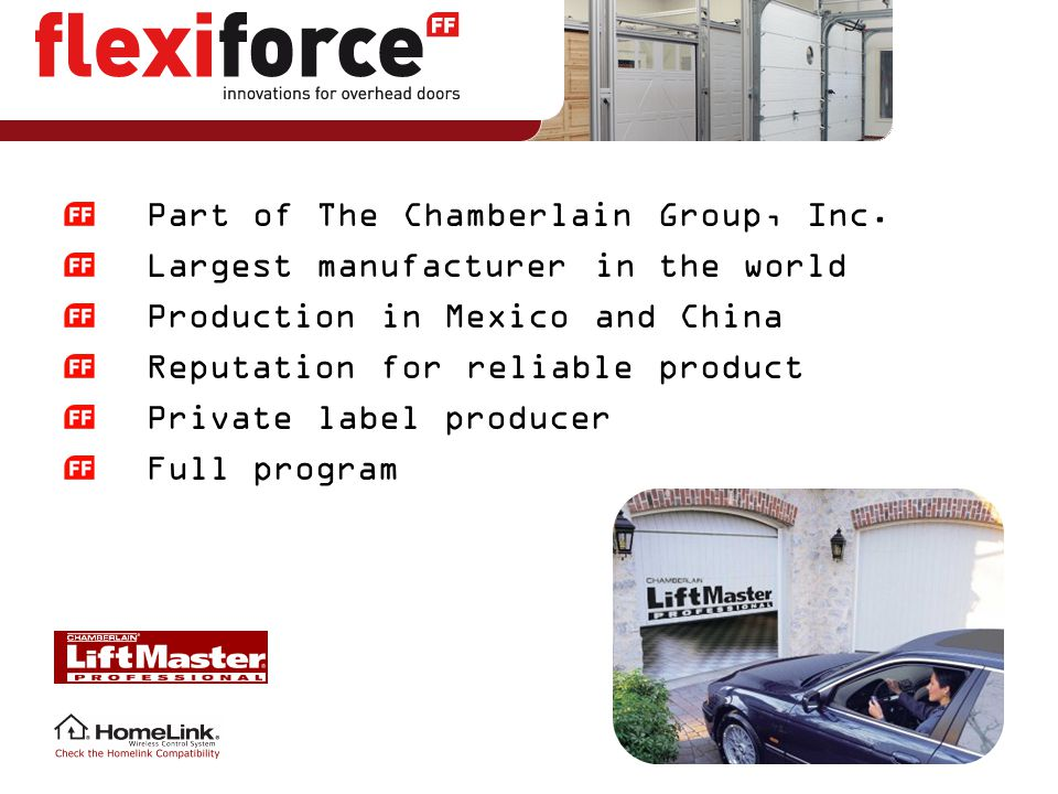 Part of The Chamberlain Group, Inc.