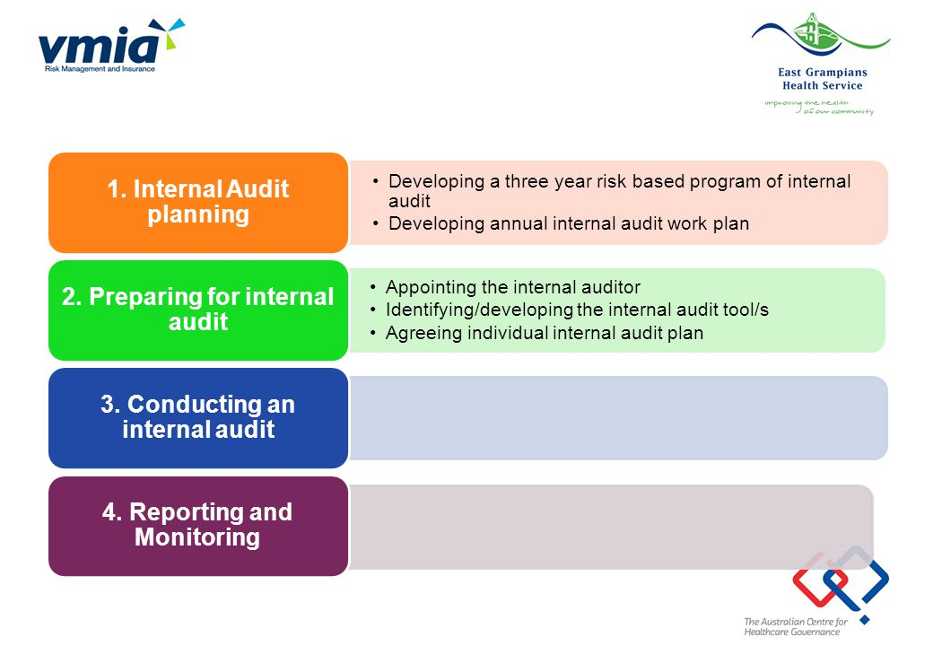 1. Internal Audit planning