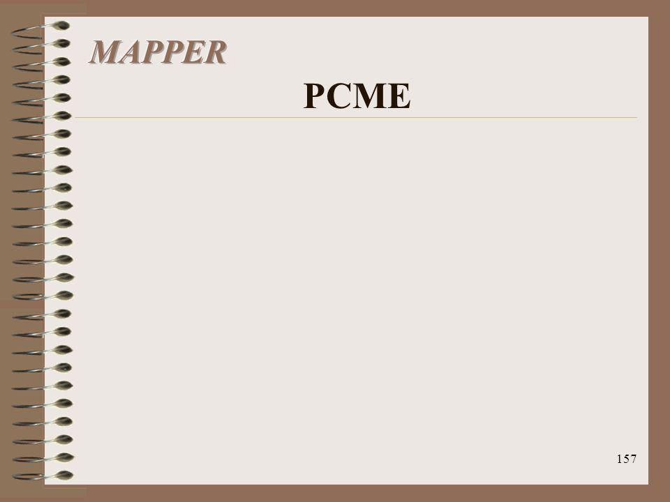 MAPPER PCME