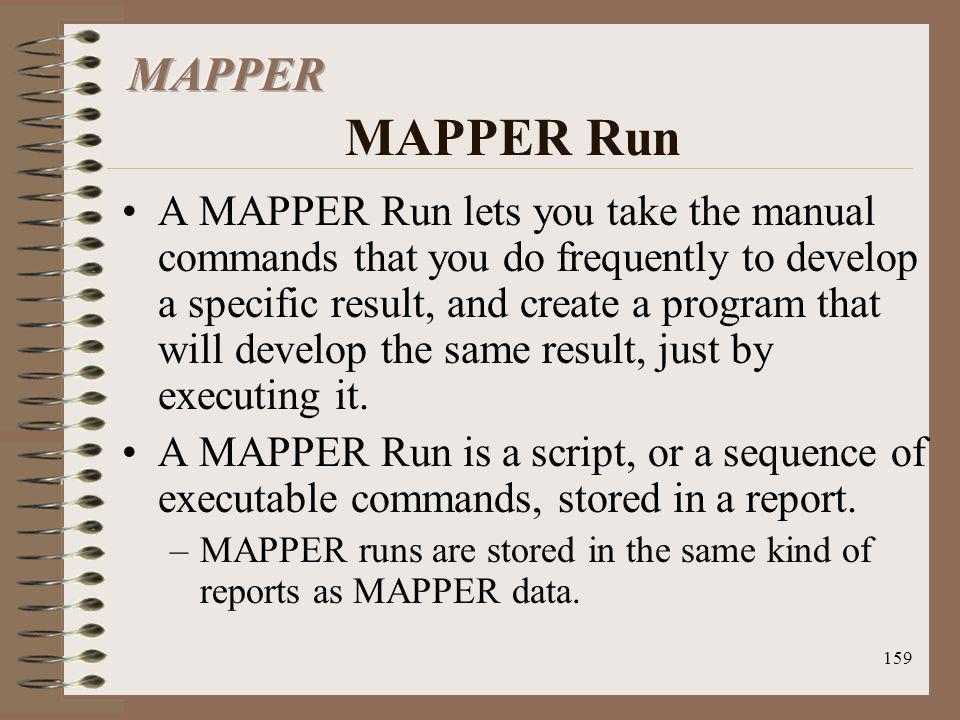MAPPER MAPPER Run