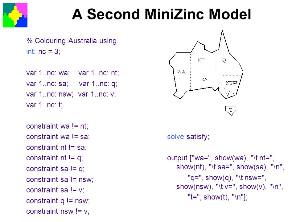 A Second MiniZinc Model