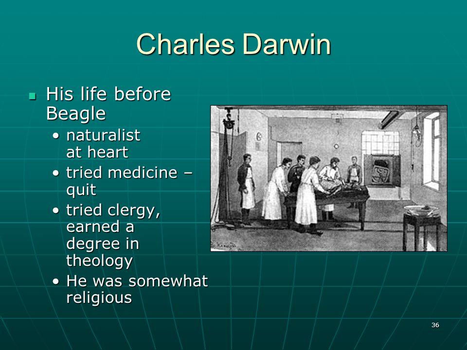 Charles Darwin His life before Beagle naturalist at heart