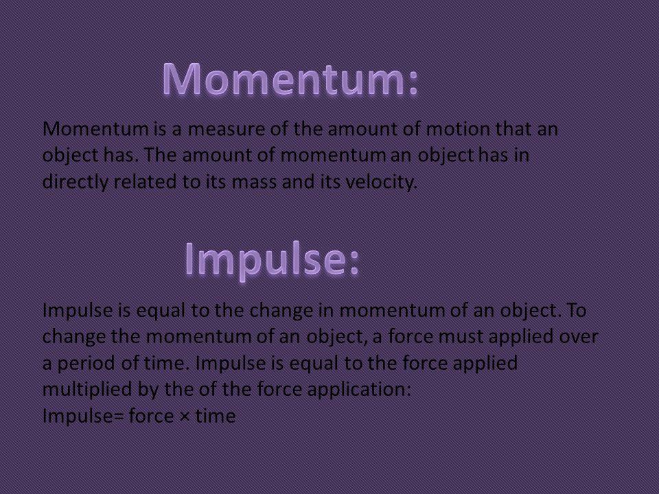 Momentum: