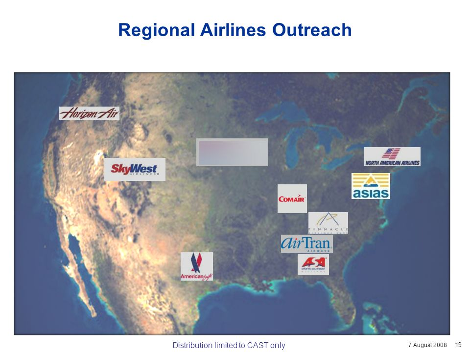 Regional Airlines Outreach