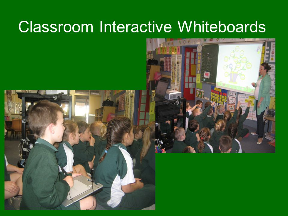 Classroom Interactive Whiteboards