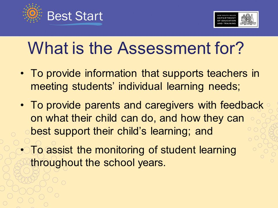 What is the Assessment for