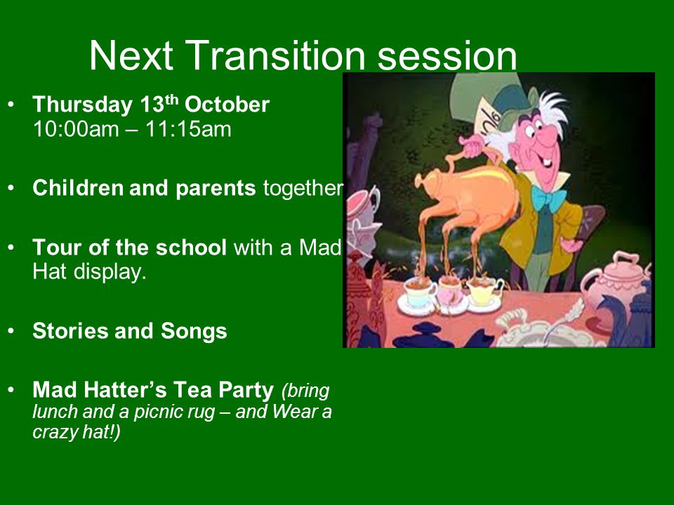 Next Transition session