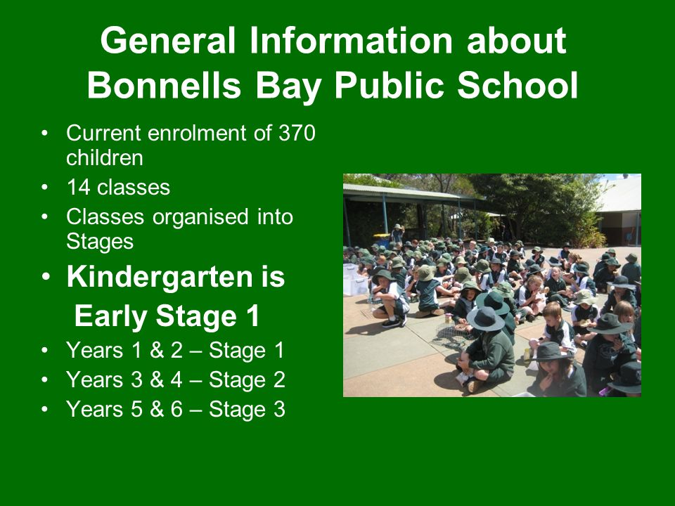 General Information about Bonnells Bay Public School