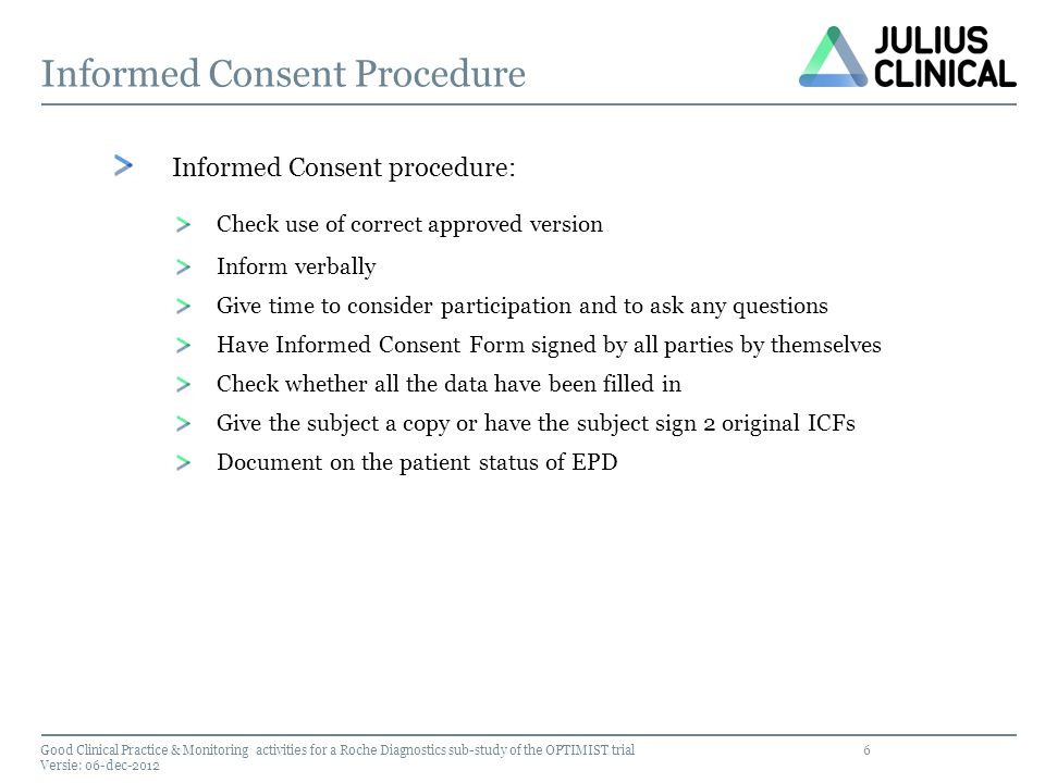 Informed Consent Procedure