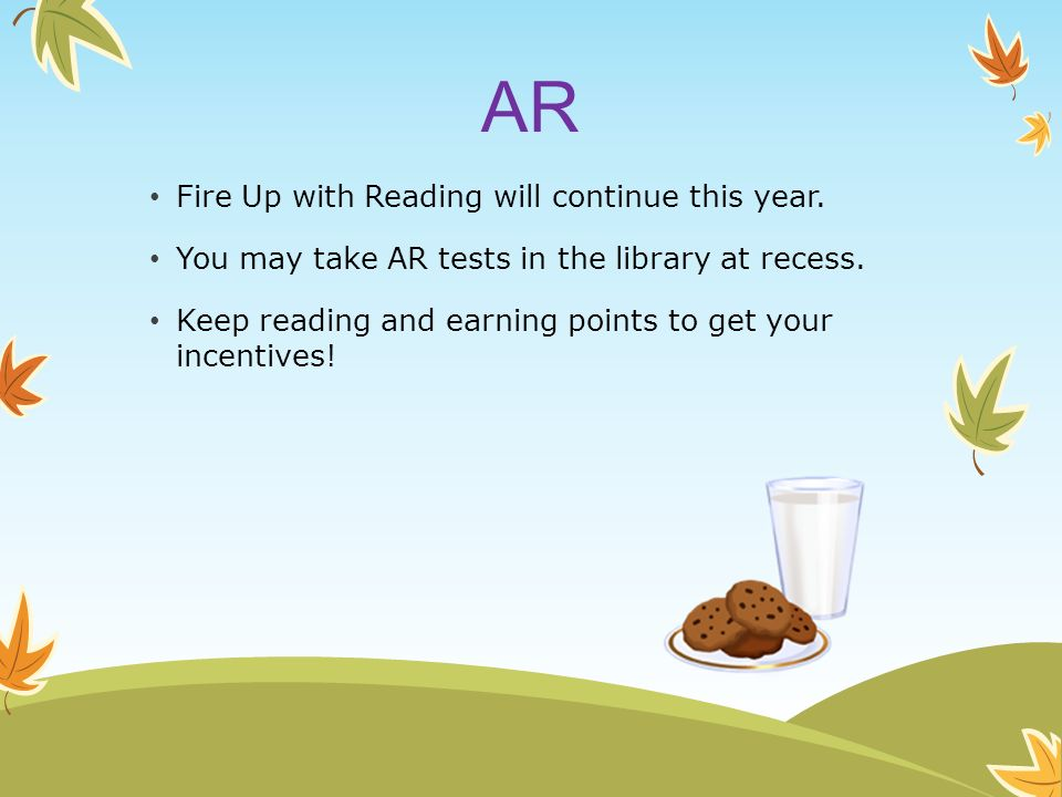 AR Fire Up with Reading will continue this year.