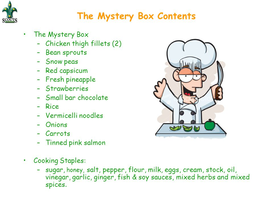 The Mystery Box Contents