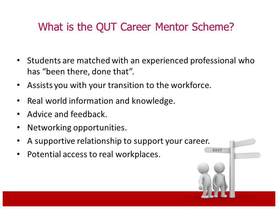 What is the QUT Career Mentor Scheme