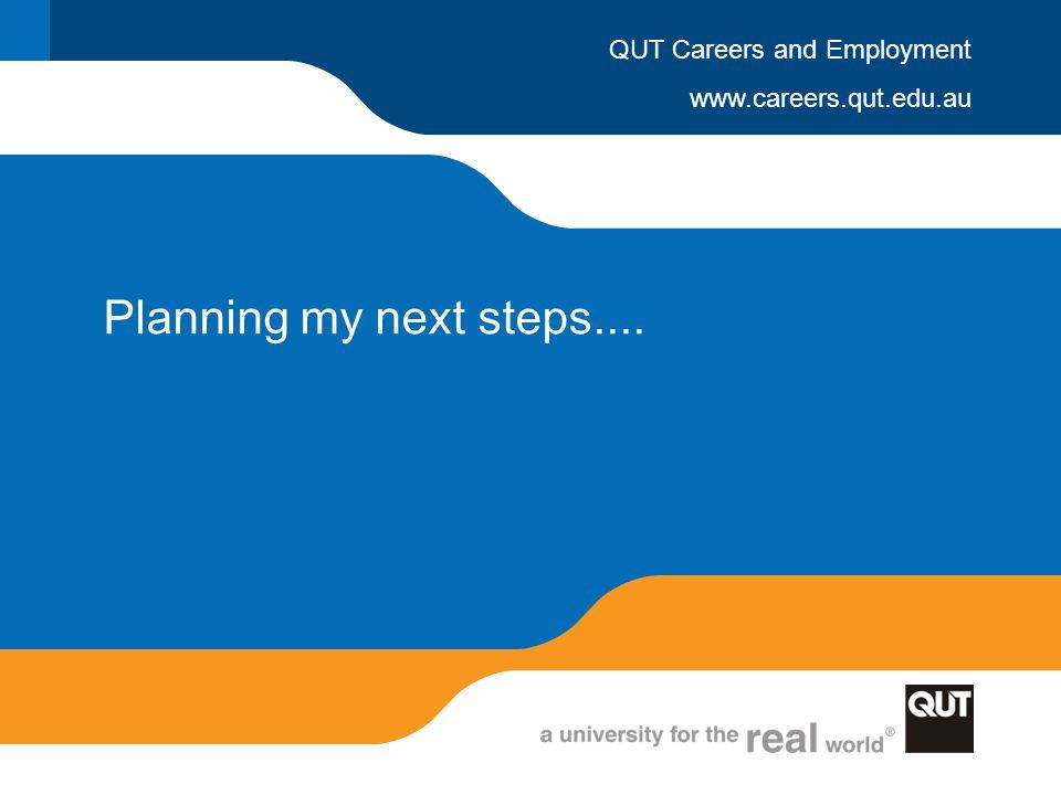 Planning my next steps....