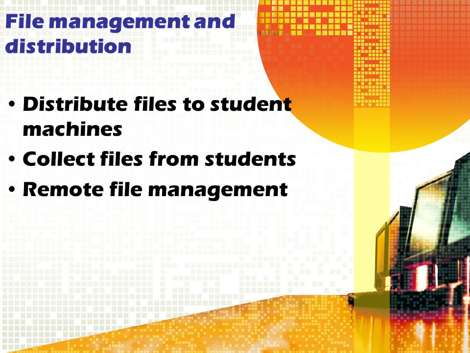 File management and distribution