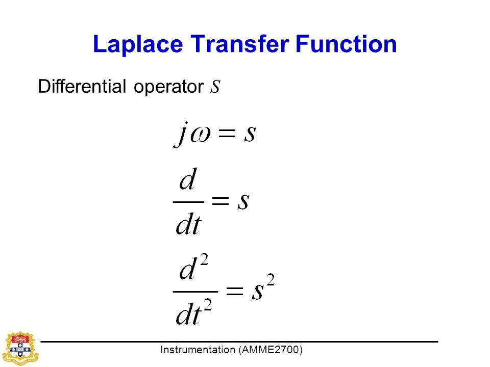 Laplace Transfer Function