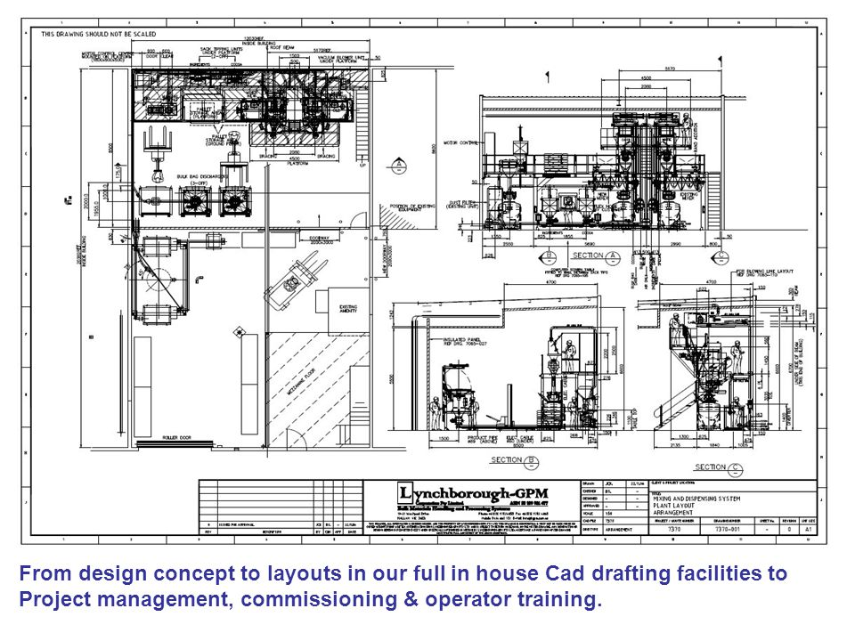 From design concept to layouts in our full in house Cad drafting facilities to