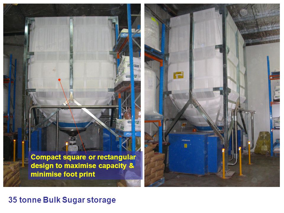 35 tonne Bulk Sugar storage